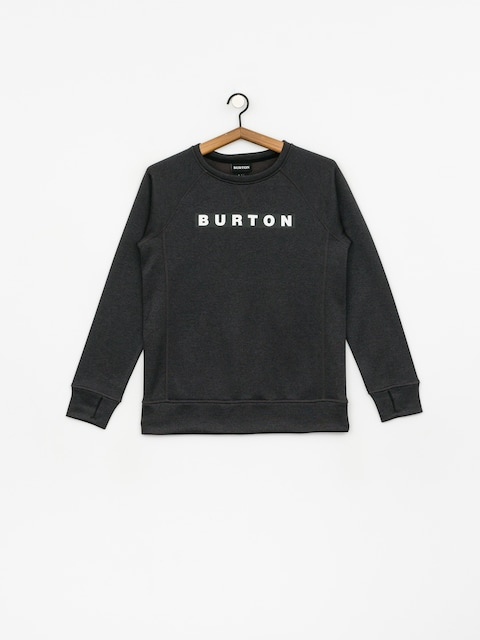 Burton Oak Crew Sweatshirt Wmn (true black heather)
