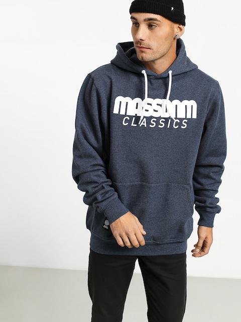 MassDnm Classics HD Hoodie (heather navy)