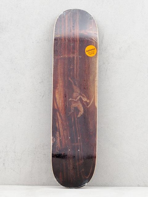 Deathwish Pale Rider Deck (brown)