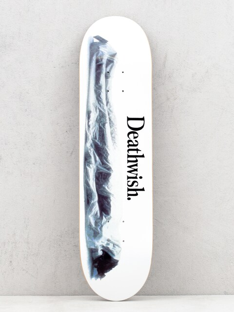 Deathwish Too Much Too Soon Deck (white)