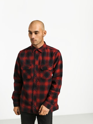 Element Wentworth Shadow Ls Shirt (pompeian red)