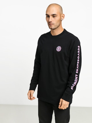 Element Chrome Longsleeve (flint black)