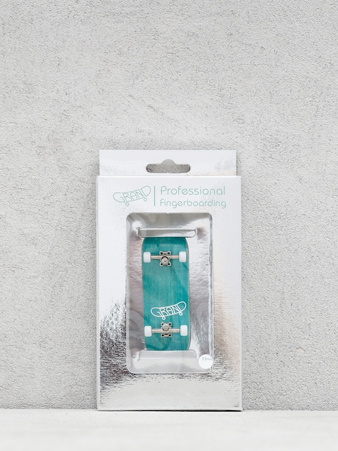 Grand Fingers Pro Fingerboard (turquoise/silver/white)