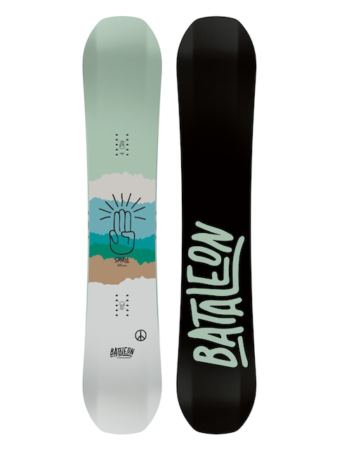 Bataleon Spirit Snowboard Wmn (black/mint)