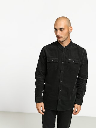 RVCA Freeman Cord Ls Shirt (pirate black)