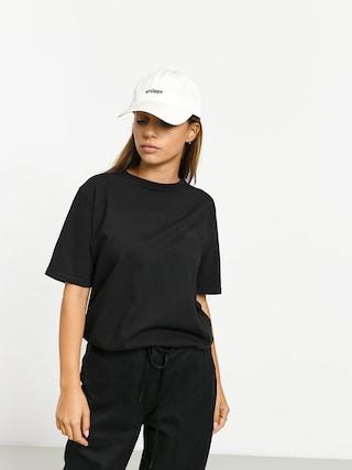 Stussy Basic Logo Pig Dyed T-shirt Wmn (black)