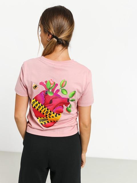 Puma X Sue Tsai T-shirt Wmn (bridal rose)