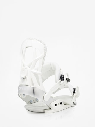 Drake Fifty Snowboard bindings (white)