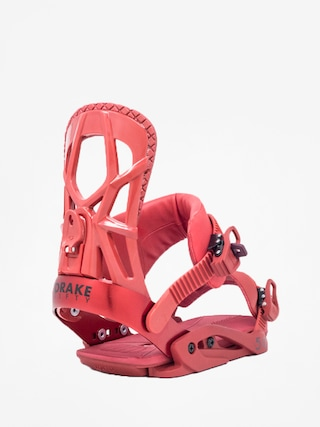 Drake Fifty Snowboard bindings (bloody red)