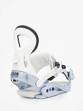 Drake Jade Snowboard bindings Wmn (white/blue)