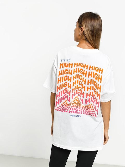 Local Heroes High High High T-shirt (white)