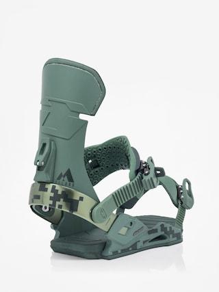 Drake Reload Snowboard bindings (green camo)