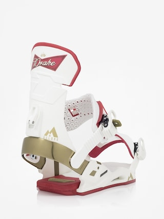 Drake Reload Snowboard bindings (white beer)