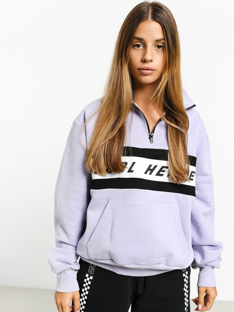Local Heroes Lh Violet Zipper Sweatshirt Wmn (violet)