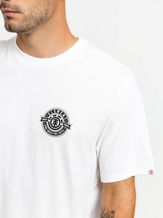 Element Medallian T-shirt (optic white)