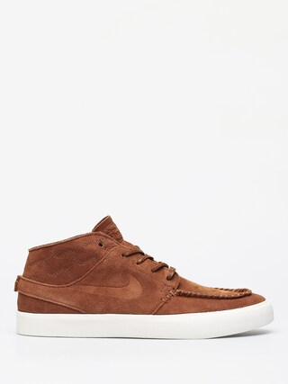 Nike SB Zoom Janoski Mid Crafted Shoes (lt british tan/lt british tan black)