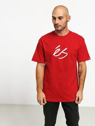 Es Script Mid T-shirt (red)