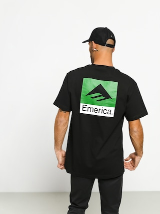 Emerica Classic Back Print T-shirt (black)