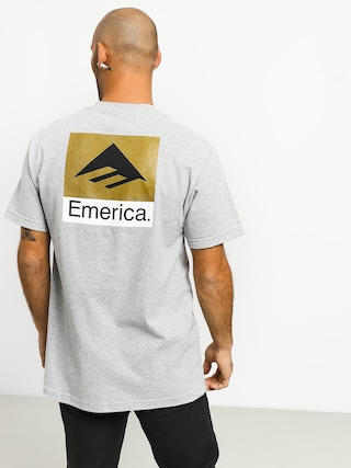 Emerica Classic Back Print T-shirt (grey/heather)