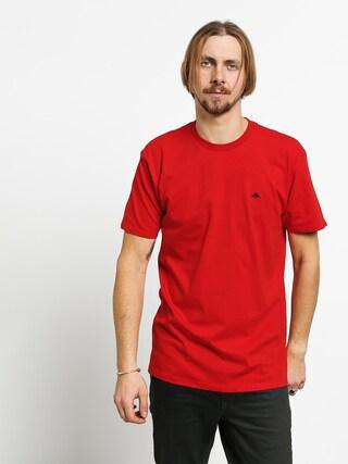 Emerica Triangle Staple T-shirt (red)