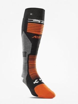 ThirtyTwo Asi Merino Vapor Socks (black/orange)