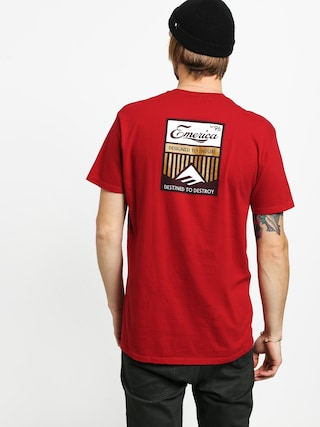Emerica No 96 T-shirt (cardinal)