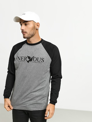 Nervous Classic Longsleeve (grey/black)