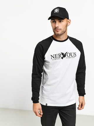 Nervous Classic Longsleeve (white/black)