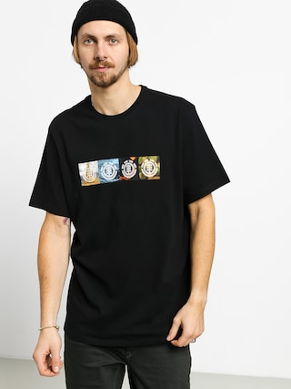 Element Horizontal Seasons T-shirt (flint black)