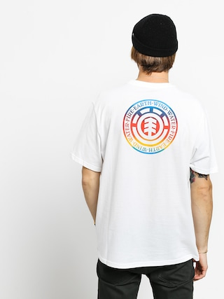 Element Seal Gradient T-shirt (optic white)