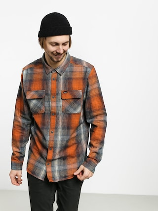 RVCA Muir Flannel Ls Shirt (rust orange)