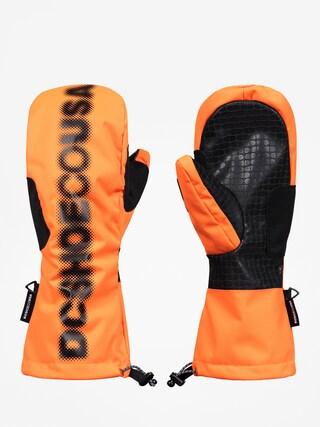 DC Headline Mitt Gloves (shocking orange)