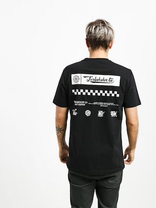 Turbokolor End Line T-shirt (black)