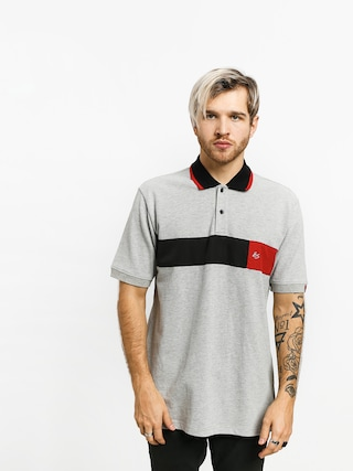 Es Mitga Polo t-shirt (grey/heather)