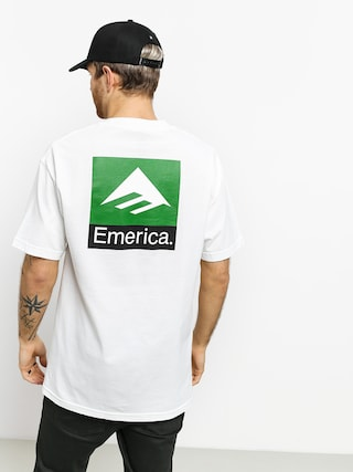 Emerica Classic Back Print T-shirt (white)