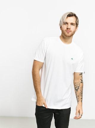 Emerica Triangle Staple T-shirt (white)