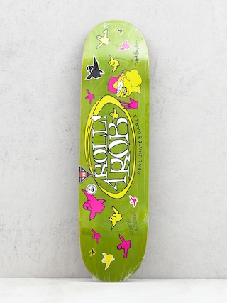 Real Roll 4 Rob By Gonz II Deck (green)