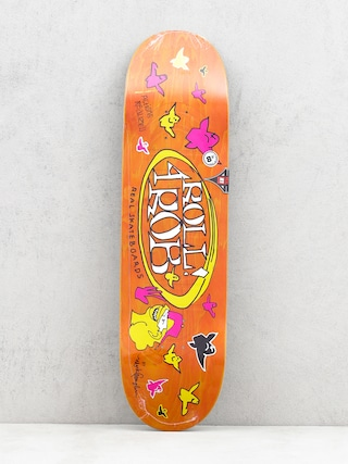 Real Roll 4 Rob By Gonz II Deck (orange)