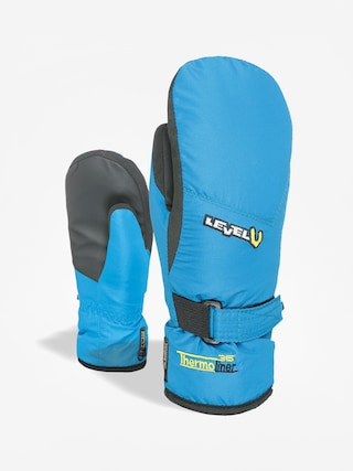 Level Junior Mitt Gloves (light blue)