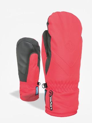 Level Kid Mitt Gore Tex Gloves (red)