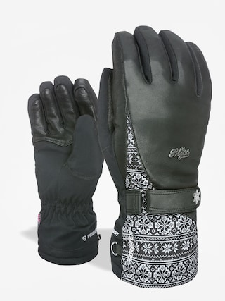 Level Bliss I Crystal Gore Tex Gloves Wmn (black/grey)