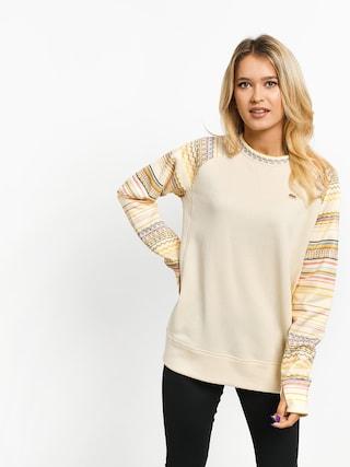 Burton Oak Crew Sweatshirt Wmn (crmhtr/crerev)