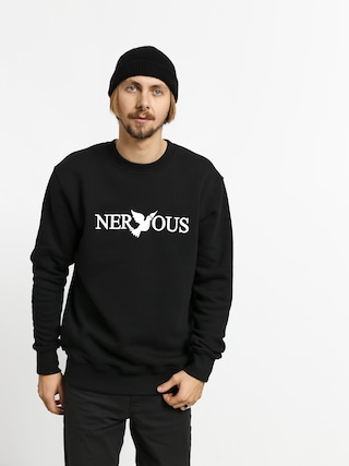 Nervous Classic Crew Sweatshirt (black/white)