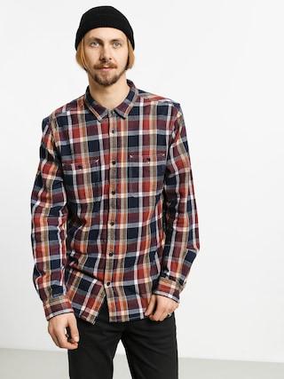 Etnies Ruskin Flannel Shirt (brown/navy)