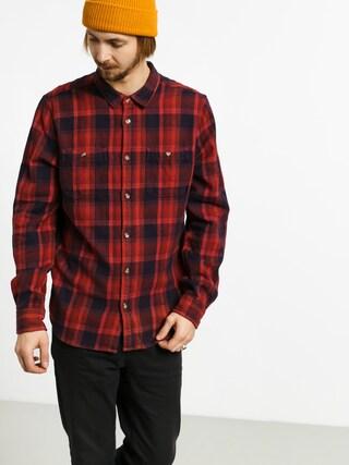 Etnies Ruskin Flannel Shirt (red/navy)