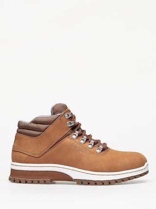 K1x H1Ke Territory Superior Shoes (dark honey/grey/white)