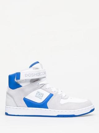 DC Pensford Shoes (white/grey/blue)