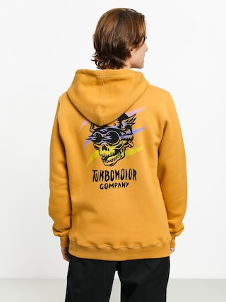 Turbokolor Flash Rider HD Hoodie (mustard)