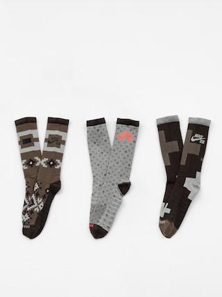 Nike SB Everyday Max Ltwt Crew Socks (multi color)