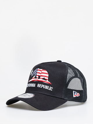New Era Canvas Cali Trucker ZD Cap (black)
